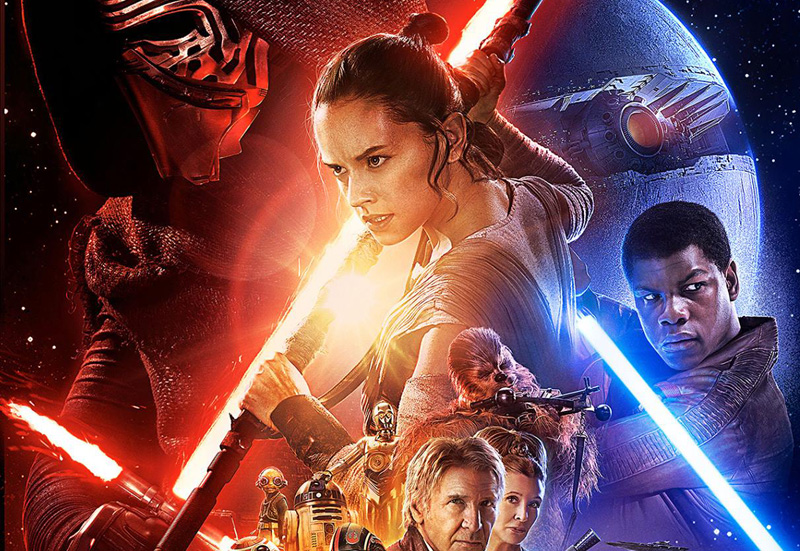 Get ready for The Force Awakens with a new Star Wars trailer.