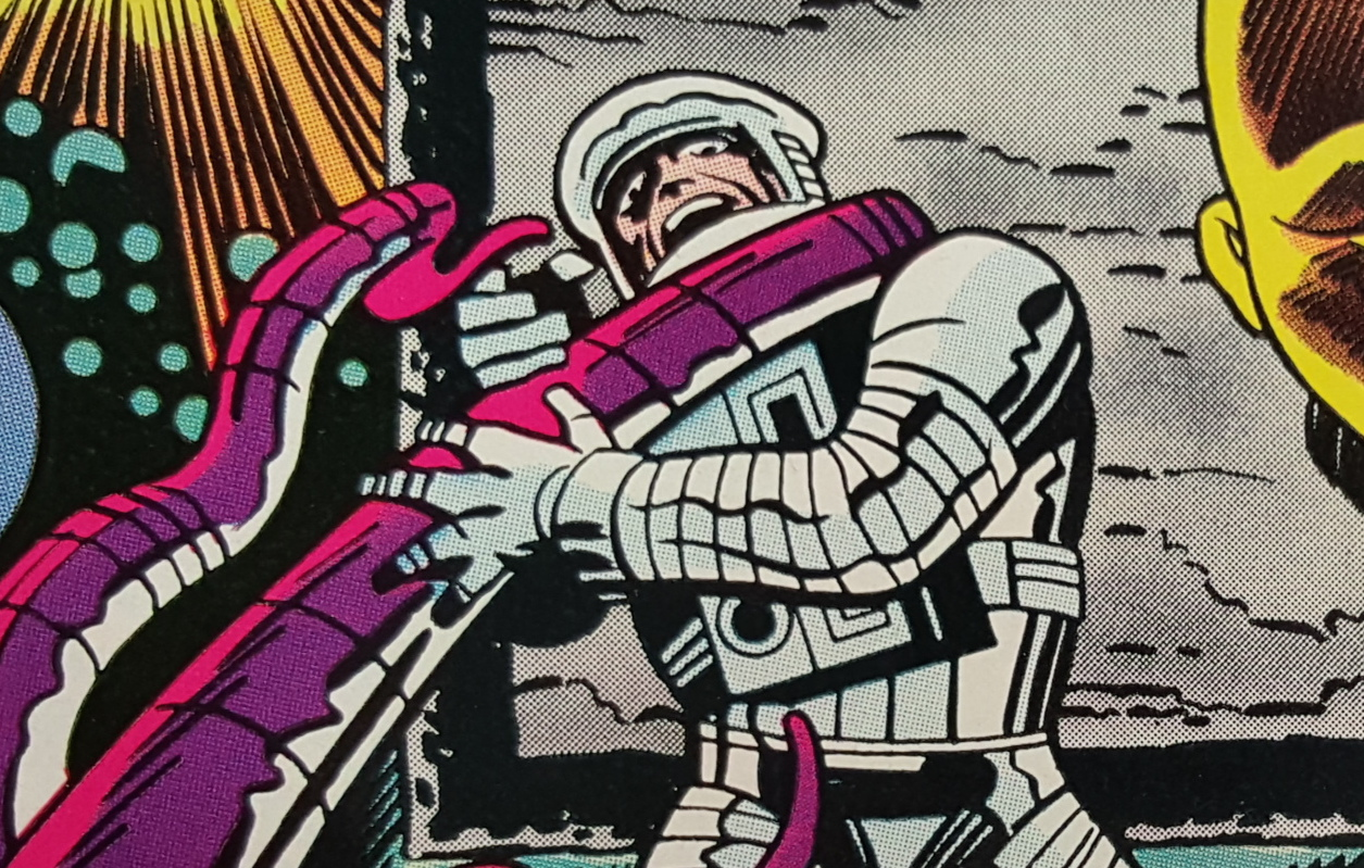Did we see a Jack Kirby's 2001 / Agents of SHIELD crossover?