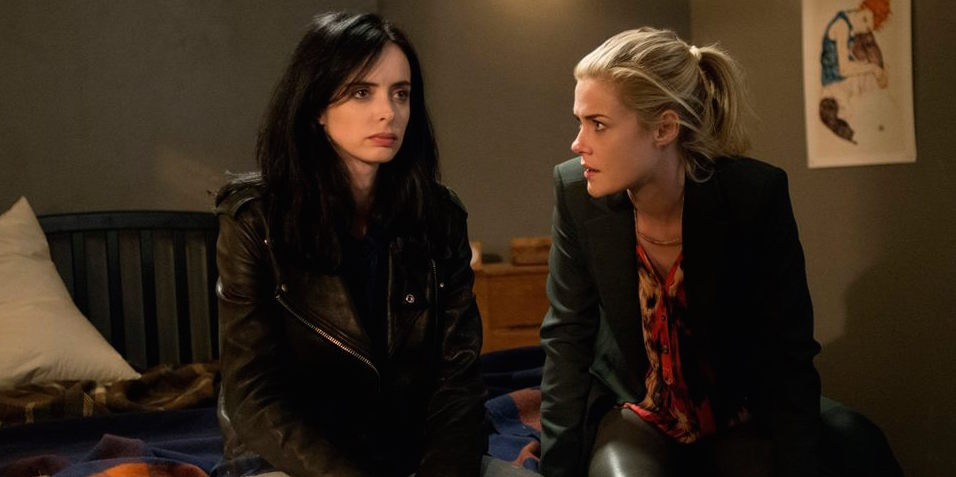 Take a look at a Marvel's Jessica Jones clip featuring series stars Krysten Ritter, Rachael Taylor and Carrie-Anne Moss. The show hits Netflix November 20.