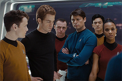 Star Trek Beyond Cast Talks from the Set
