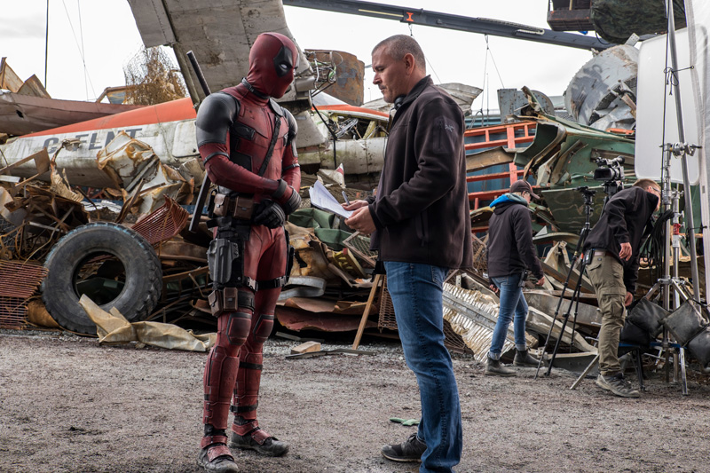 Deadpool Movie A Visit To The Vancouver Set