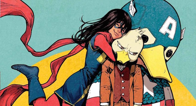 Catch up with Ms. Marvel and Howard the Duck in the Marvel February 2016 solicitations.