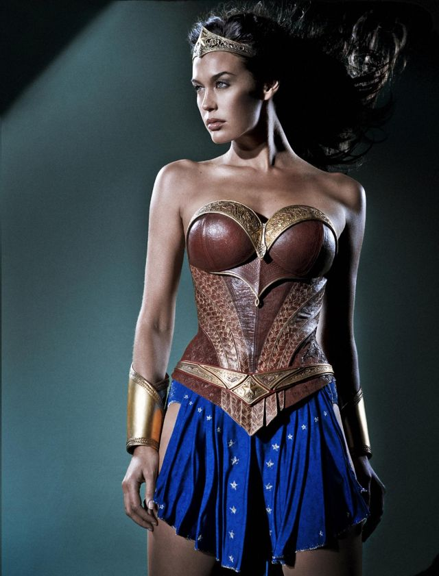 The Wonder Woman costume from George Miller's Justice League movie.