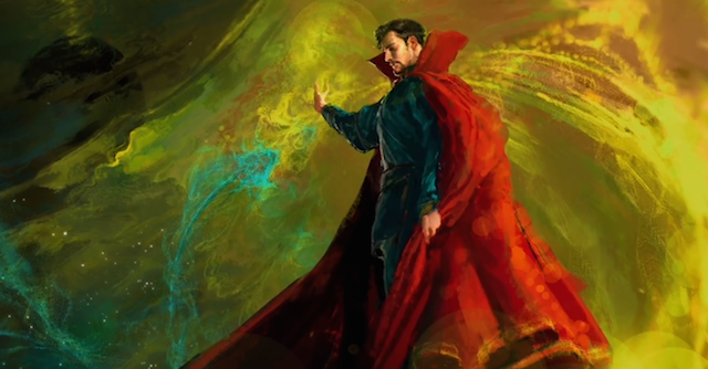 Take a look at a piece of Doctor Strange concept art, showing off what we're likely to see form Benedict Cumberbatch's Marvel Universe character.