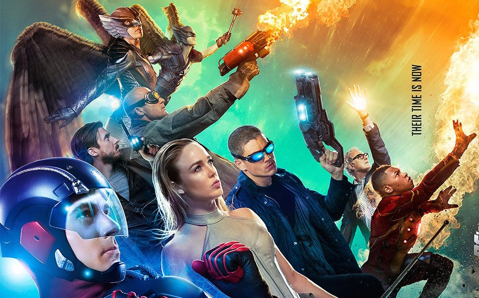 The CW has just released a new DC's Legends of Tomorrow poster, offering a tease of the upcoming superhero assembly. Catch it January 21 on The CW.