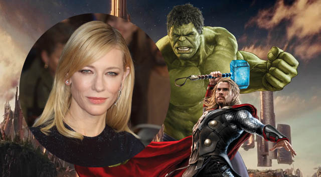 A new report suggests that Cate Blanchett is being eyed for a major role in Thor: Ragnarok! Who could she be playing in the Marvel Cinematic Universe?