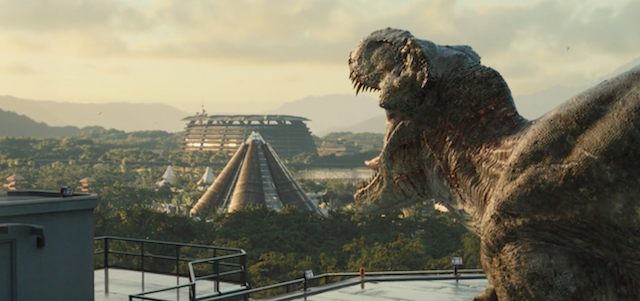 Industrial Light & Magic has just released a Jurassic World visual effects reel that explores how the park came together for last year's blockbuster sequel.