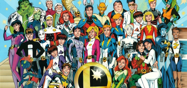 """Speaking today at TCAS, DC Entertainment CCO Geoff Johns revealed that a """"hint"""" of the Legion of Super-Heroes is coming to one of the live action DC shows."""