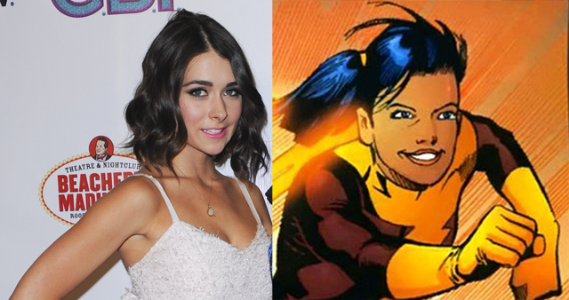 Another DC Comics speedster is racing to The CW's The Flash. Allison Paige will play the superhuman known as Trajectory on a upcoming season two episode.