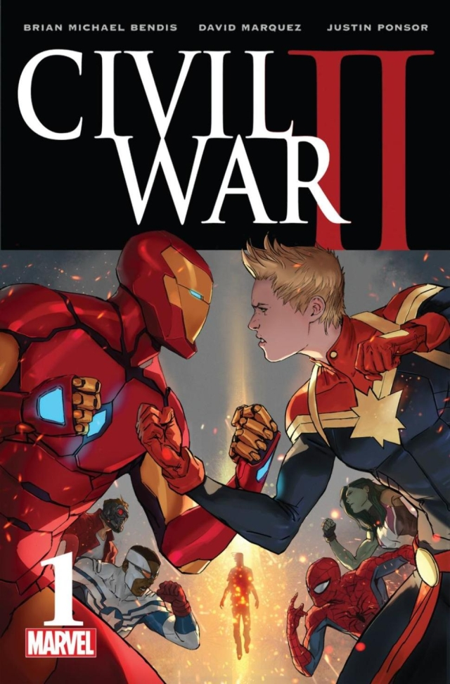 civil war2 comic art