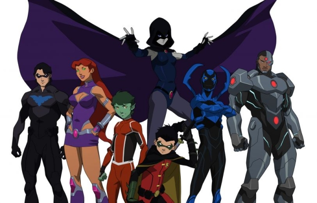 Watch the Justice League vs Teen Titans trailer!