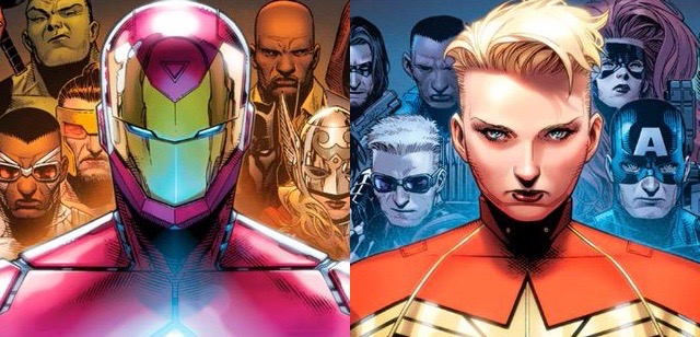 Marvel's Civil War II Teams Revealed!