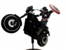 Captain America Gets a Premium Motion Statue from Factory Entertainment