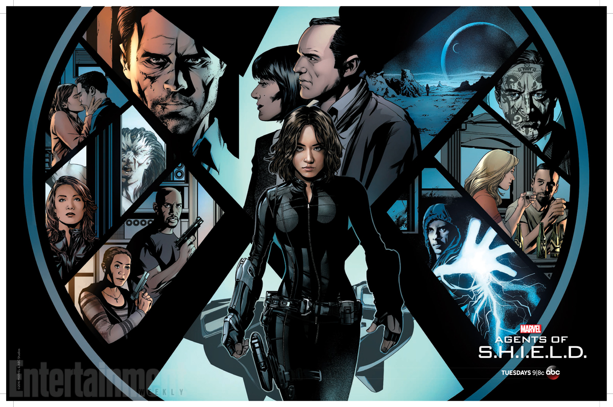 We've got a first look at a new Agents of SHIELD WonderCon poster by artist Mike McKone that will be given away to congoers at the downtown LA event.