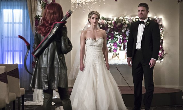 Somebody's Getting Pretend Married in Our Recap of Arrow Episode 4.16