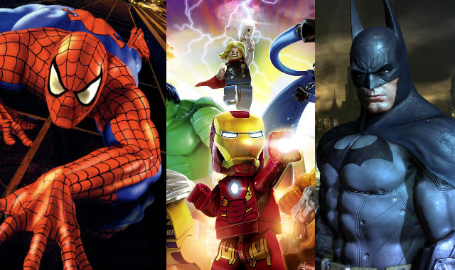 SuperHeroHype Looks at the 10 Best Superhero Games Ever