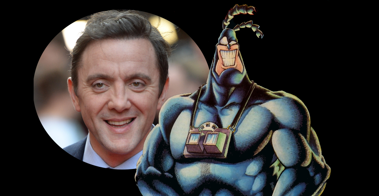 Peter Serafinowicz is set to play the title role on The Tick, the new live action take on Ben Edlund's comic book hero that is headed to Amazon Studios.