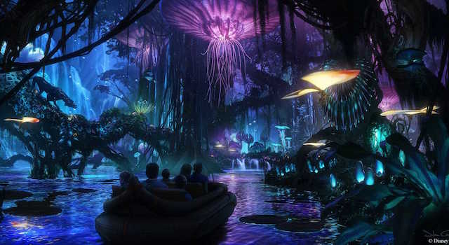 Take a look at what to expect from the Pandora: The World of Avatar attraction that will soon be opening its doors at Disney's Animal Kingdom next year.