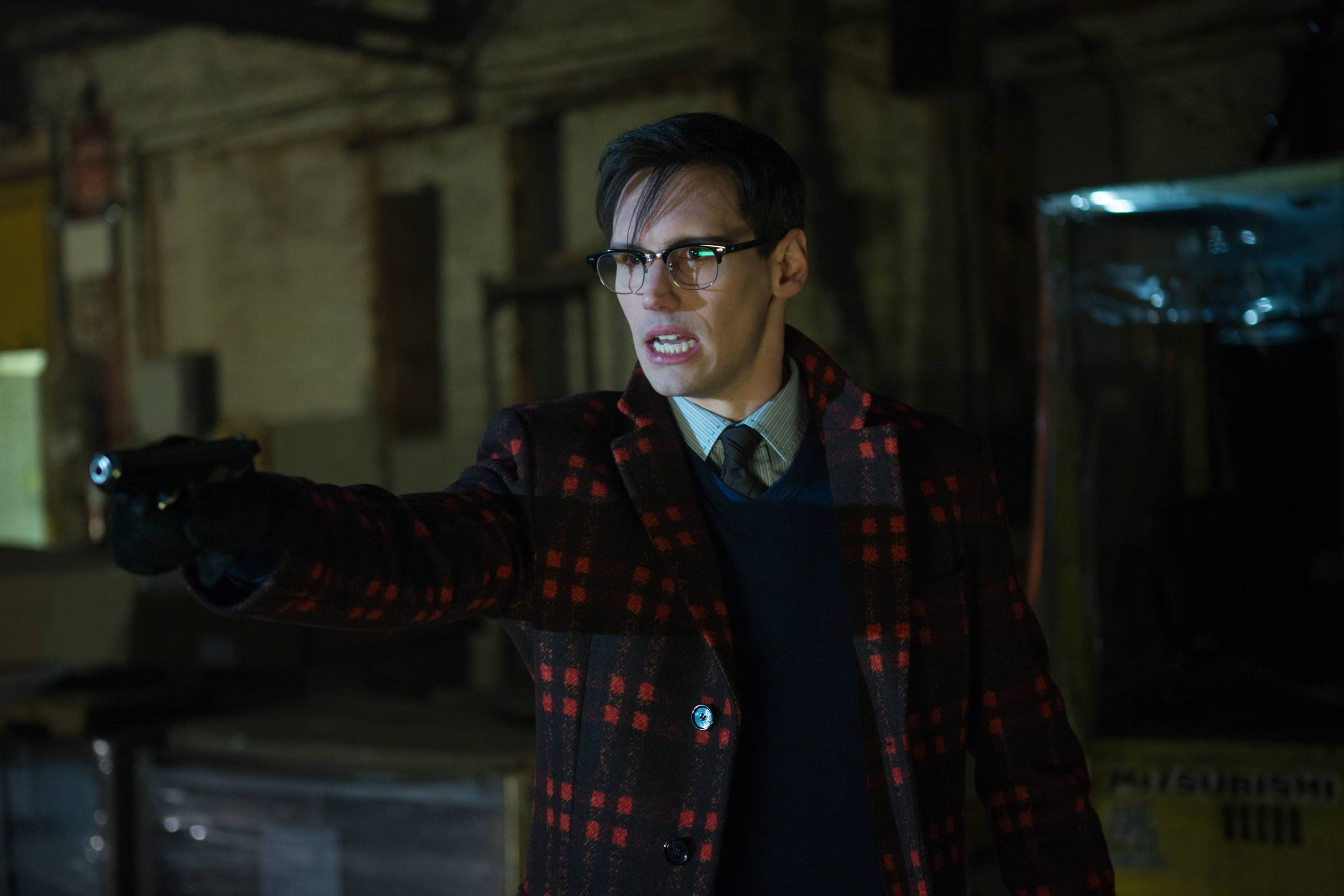 GOTHAM: Cory Michael Smith in the