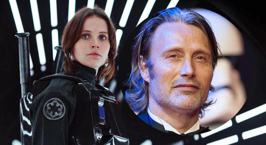 Mads Mikkelsen today revealed his character in Gareth Edwards' Rogue One: A Star Wars Story. Find out his connection to Felicity Jones' Jyn Erso.