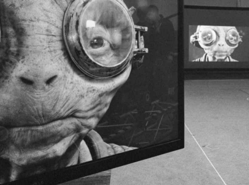 Writer and director Rian Johnson has shared a new photo from the set of Star Wars: Episode VIII and it reveals a new look at Lupita Nyong'o's Maz Kanata.