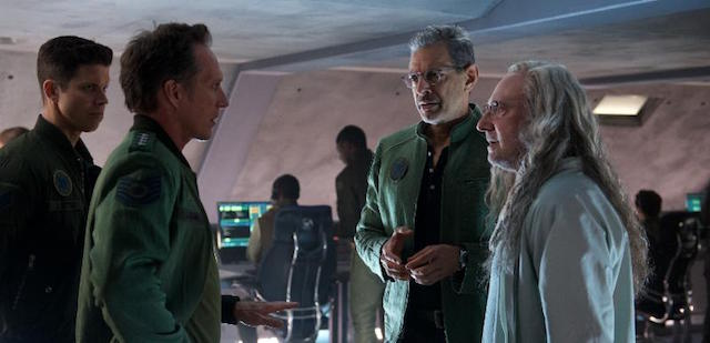 20th Century Fox has just brought online a new Independence Day: Resurgence tv spot, which offers a look at the return of Brent Spiner's Dr. Brackish Okun.
