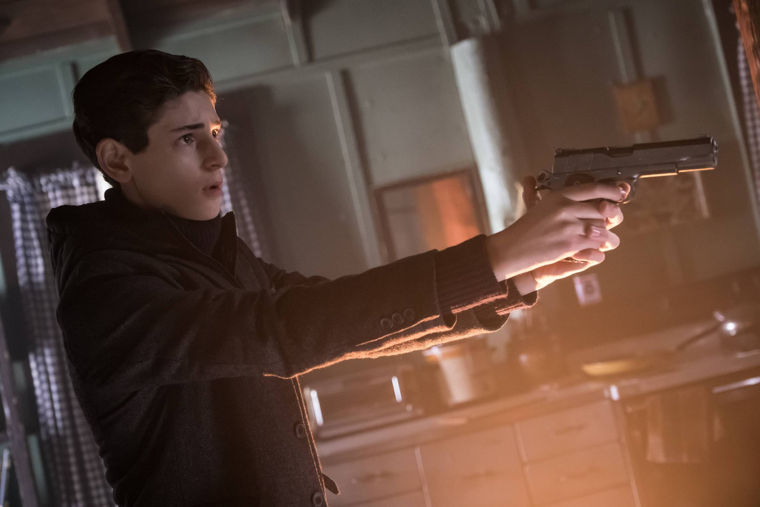GOTHAM: David Mazouz in the
