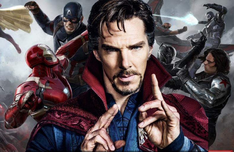 Jimmy Kimmel live is celebrating the Marvel Cinematic Universe with a week of Captain America: Civil War guests and the debut of the Doctor Strange trailer.