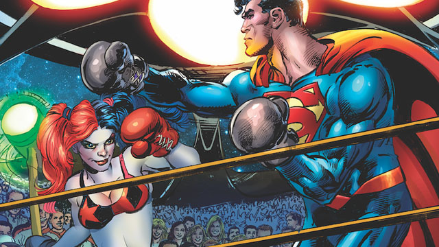 Check out the full DC Comics August 2016 solicitations, featuring more than a hundred different upcoming single issues, collected editions & other products.