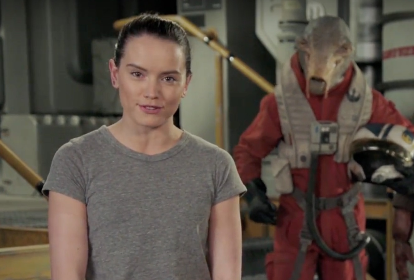 Celebrate Star Wars Day with a video message from Daisy Ridley, Force For Change and a few friends from a galaxy far, far away. May the 4th be with you!