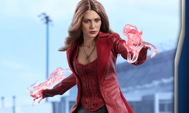 Scarlet Witch Hot Toys Collectible Figure for Captain America: Civil War