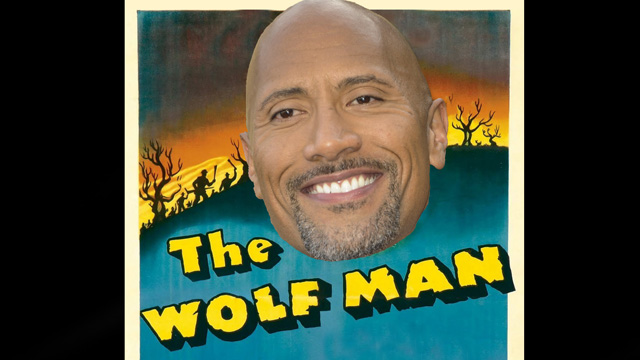 Universal Pictures is reportedly keen on signing Dwayne Johnson to headline their upcoming Wolfman movie, planned to part of a budding cinematic universe.