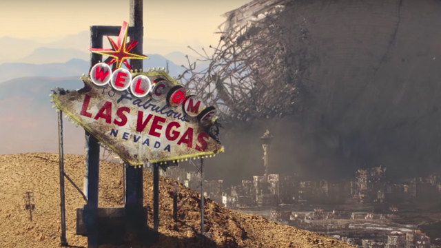 There's a new in-universe ad for Independence Day: Resurgence and it offers a travel video to the Las Vegas Ruins (Vegas was leveled in the 1996 original).