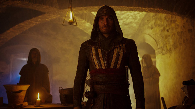Check out a pair of new Assassin's Creed images for a look at the upcoming video game adaptation. Starring Michael Fassbender, it hits theaters December 21.