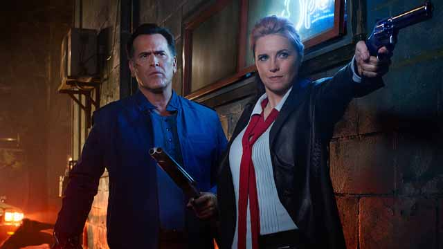 Check out the new Ash vs Evil Dead Season 2 Teaser for a look at what's to come when the hit STARZ series returns for its second season this October.