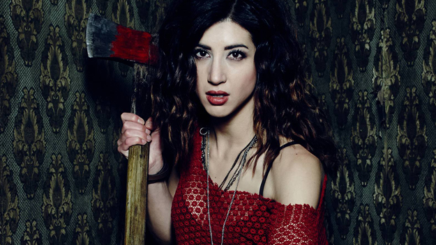 SHH caught up with Ash vs Evil Dead star Dana DeLorenzo at Fan Expo Canada 2016. She'll be back as Kelly Maxwell when the series returns to STARZ October 2.