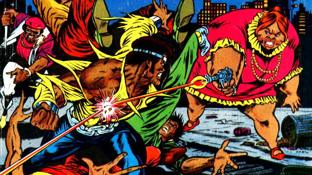 Black Mariah is introduced in one of the earliest Luke Cage stories.