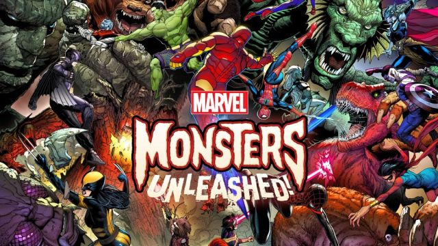 The Kaiju are Coming in Marvel's Monsters Unleashed