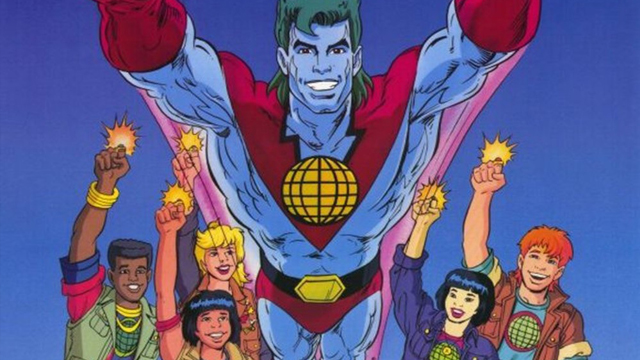Leonardo DiCaprio is among the producers on an upcoming Captain Planet movie, based on the animated series that ran for six seasons in the 1990s.
