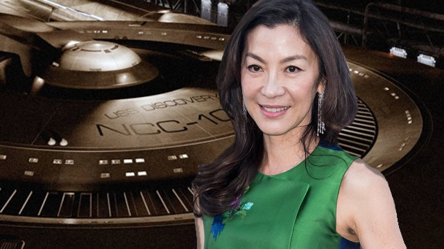 Crouching Tiger, Hidden Dragon star Michelle Yeoh is the first person to join the cast of the upcoming CBS All Access series, Star Trek: Discovery.