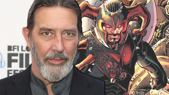 Zack Snyder's Justice League has today added Ciarán Hinds to the cast. He'll play the film's big bad, the DC Comics supervillain known as Steppenwolf.