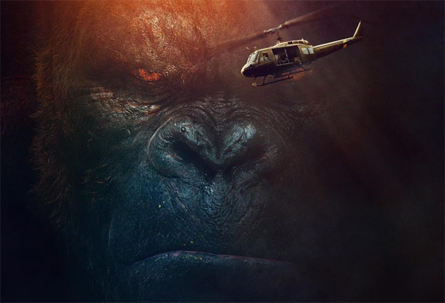 Check out the Kong: Skull Island trailer below, and underneath you'll find two new posters in the gallery as well.