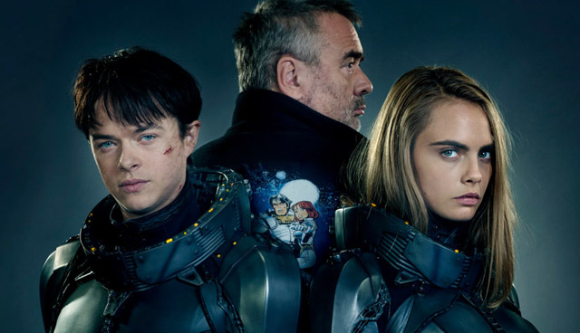 The Valerian trailer offers a glimpse at Luc Besson's fantastic sci-fi world. Check out the Valerian trailer in the player below!
