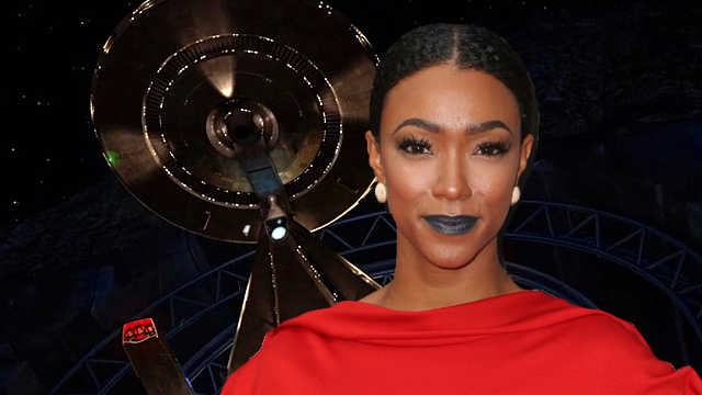 Walking Dead's Sonequa Martin-Green is set to lead CBS All-Access' Star Trek: Discovery. She'll play a Lieutenant Commander and the show's central character.