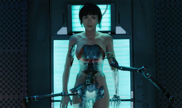 Ghost In The Shell Posters Show Scarlett Johansson Geisha