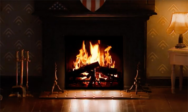 Cozy Up to Marvel's New Holiday Fireplaces