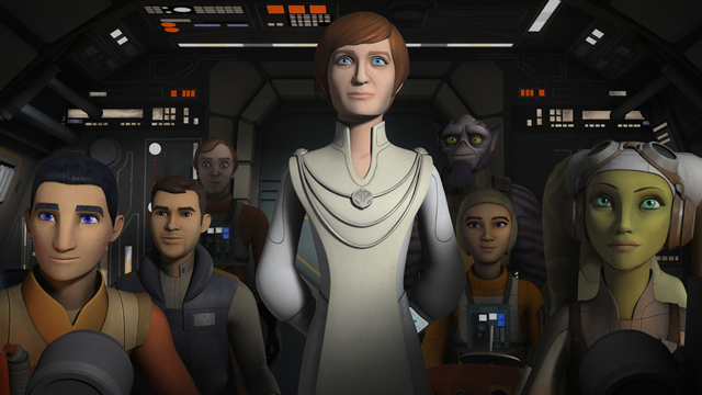 "Check out a new clip (and several new stills) from ""Secret Cargo,"" the latest episode of Star Wars Rebels. Catch it on Disney XD this Saturday, March 4."