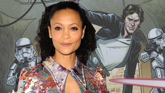 Westworld's Thandie Newton is reportedly eyeing a mystery role in directors Phil Lord and Chris Miller's upcoming Han Solo Star Wars Story movie.