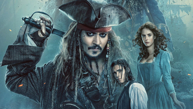 Johnny Depp's Captain Jack Sparrow returns on a new Pirates movie poster. Catch Pirates of the Caribbean: Dead Men Tell No Tales on the big screen May 26.