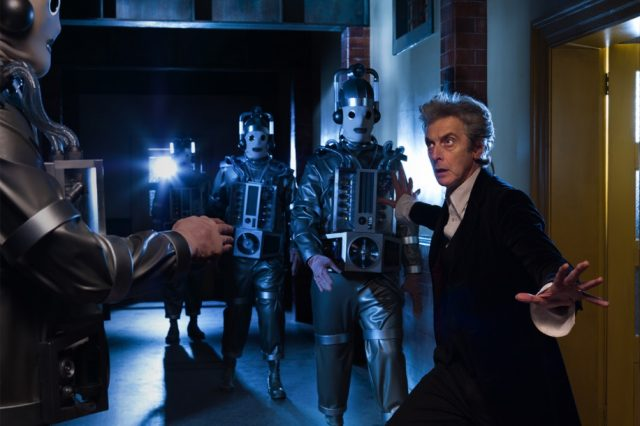 The BBC revealed today on Twitter that the 11th and 12th episodes of Peter Capaldi's final Doctor Who season will feature the Mondasian Cybermen.